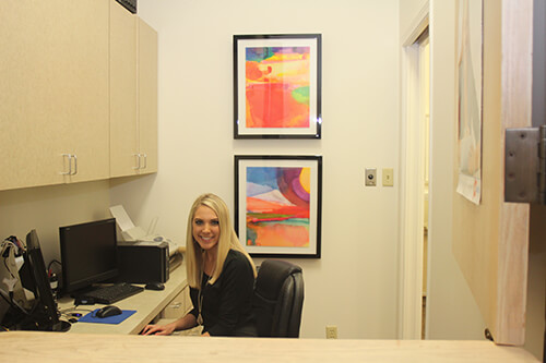 Candace at Front Desk - Pediatric Dentist and Orthodontist in Dallas, TX