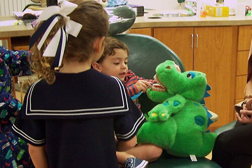 Kids with stuffed animals - Pediatric Dentist and Orthodontist in Dallas, TX